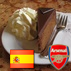 Twitter avatar; photo of a slice of sachertorte cake